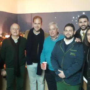 Cs Málaga visita los belenes de La Coracha y Glorias de Málaga
