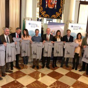 Carballo asiste a la presentación del Maratón de Málaga