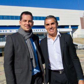 Carballo asiste a la inauguración del remodelado Paseo de las Estrellas del Deporte