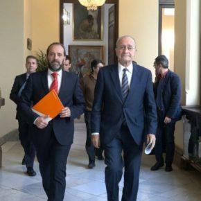 Conseguimos que el PP cumpla nuestras exigencias sobre Limasa, Repsol, bomberos y Gibralfaro para negociar presupuestos
