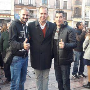Cs Málaga, en el acto del Día Mundial de la Discapacidad