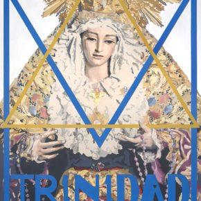 Cs Málaga en la presentación del cartel del Cincuentenario de la bendición de la Virgen de la Trinidad
