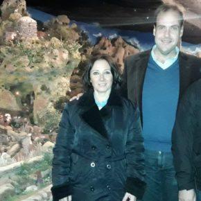 Cs Málaga visita el emblemático Belén de La Mosca