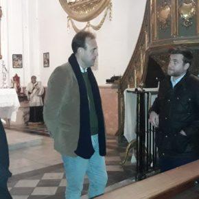 Cs Málaga visita la Hermandad de Viñeros