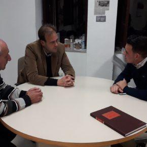 Cs Málaga se reúne con la Hermandad del Carmen de Parque Litoral