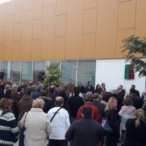 Cs Málaga asiste a la inauguración de la Plaza Pepito Vargas