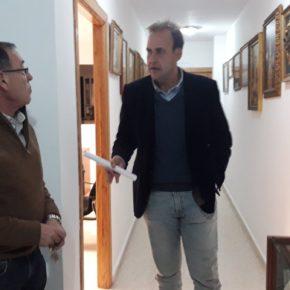 Cs Málaga visita la cofradía de la Pollinica