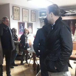 Cs Málaga visita la Hermandad de Salutación
