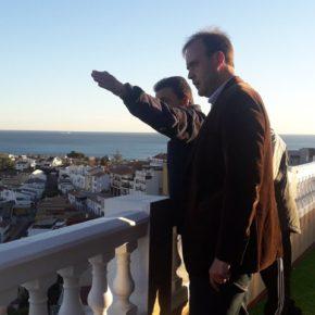 Cs Málaga visita a los vecinos de La Mosca