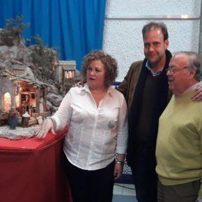 Cs Málaga visita los belenes de la Peña la Biznaga y El Palustre