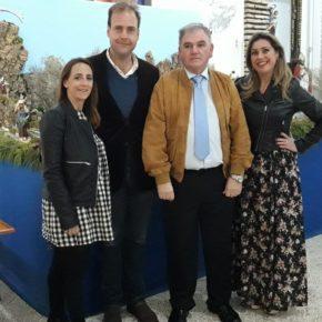 Cs Málaga, en la presentación de las fiestas en honor a San Antón y la Copa de Navidad de Hermandad La Estrella