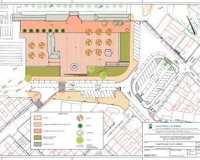 Cs Málaga, en la presentación a los vecinos del proyecto de remodelación de la Plaza Patrocinio