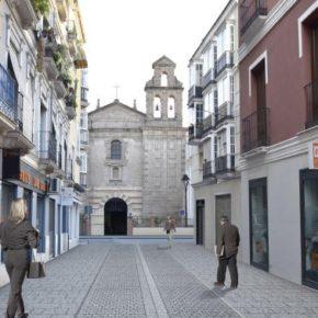 Cs Málaga, en la presentación a los vecinos del proyecto para peatonalizar Ancha del Carmen