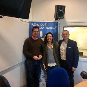 """Carballo defiende en Canal Málaga Radio que la aprobación del presupuesto """"ahora solo depende de los tiempos del PP"""""""