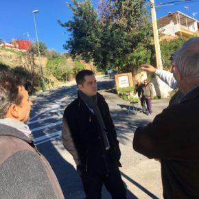 Carballo se reúne con vecinos de Monte Dorado