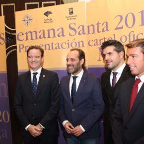 Cassá asiste a la presentación del cartel de la Semana Santa de 2018