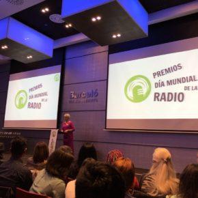 Carballo asiste a la entrega de premios por el Día Mundial de la Radio