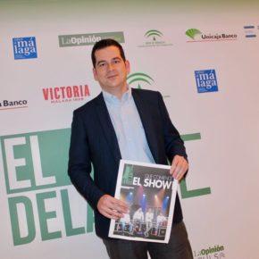 Carballo asiste a la presentación del suplemento gastronómico de la Opinión 'El Delantal de Málaga'