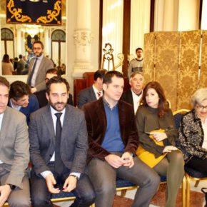 Carballo, en la firma de la prórroga del Pompidou en Málaga