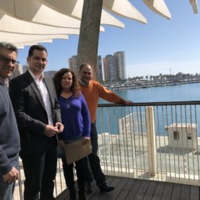 Carballo se reúne con los responsables del Aula del Mar