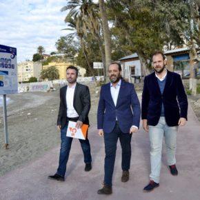 Cs propone recuperar la idea de financiar el Plan de los Baños del Carmen con los aprovechamientos de un hotel y un parking externos