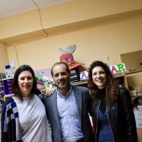 Cassá visita la Asociación Altamar que realiza una impagable labor con niños de la Trinidad y el Perchel