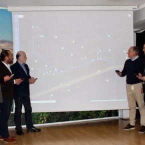 Cs propone un convenio para implantar una aplicación pionera desarrollada por la UMA y Zegrí que dinamiza los flujos turísticos en la ciudad en tiempo real