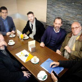 Cs Málaga se reúne con comerciantes del Romeral