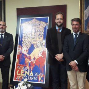 Cs Málaga, en la presentación del cartel de la Hermandad de la Sagrada Cena
