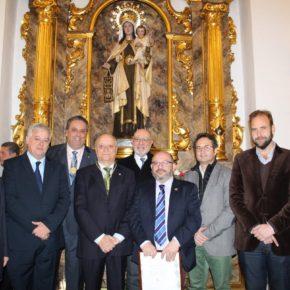 Cs Málaga, en el nombramiento de Ángel Calle y José Manuel Molina como pintor y pregonero de Glorias Málaga