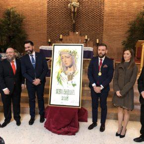 Cs Málaga, en el estreno del cartel de Nueva Esperanza