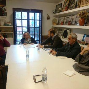 Ciudadanos Málaga se reúne con la Asociación de Vecinos El Palo
