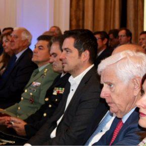 Carballo asiste al acto del 40 aniversario de la Confederación de Empresarios de Málaga