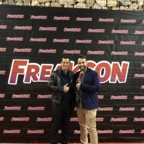 Carballo visita Freakcon, la II Convención internacional de Manga, Cómic, Series TV y Videojuegos