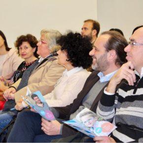Cassá, en la presentación del programa del 25 aniversario de Autismo Málaga
