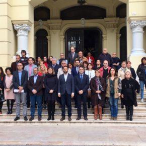 Cs Málaga se suma al minuto de silencio por la trágica muerte de Gabriel