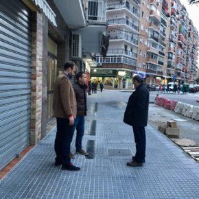 Cs Málaga, atendiendo las reivindicaciones de los vecinos de Carretera de Cádiz