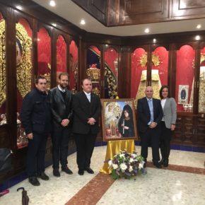 Cs Málaga, en la presentación del cartel de la Exaltación de la Mantilla de Victoriana Capuchinos