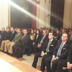 Cs Málaga acude al pregón de la Juventud Cofrade