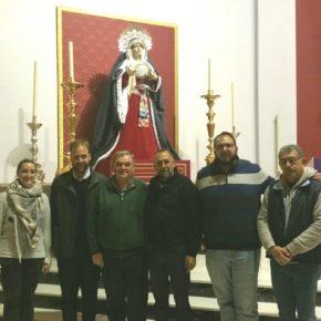 Cs Málaga visita la Hermandad Dolores del Puerto de la Torre
