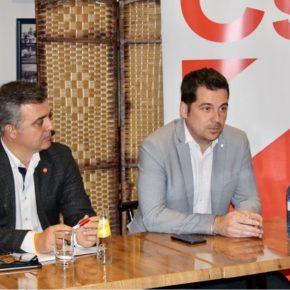 Carballo acerca a afiliados y simpatizantes de Centro la política útil de Cs Málaga