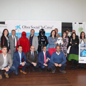 Cassá asiste a la presentación del desfile de la Legion Star Wars organizado por Fundación Luis Olivares