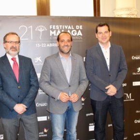 Cs Málaga, en la presentación del 21 Festival de Málaga Cine en Español