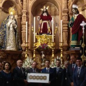 Cs acompaña a las cofradías del Huerto, Crucifixión y Zamarrilla