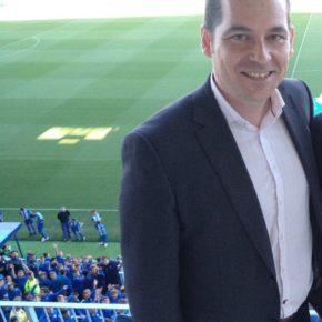Carballo asiste al homenaje del Málaga CF a Ben Barek