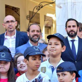 Cs Málaga participa en la celebración del Día de Europa