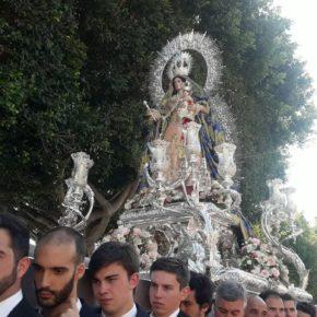 Cs acompaña al Rosario de El Palo en su XXV aniversario