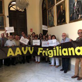 Aprobada nuestra moción para ejecutar la rehabilitación urgente de la Plaza-Pasaje Frigiliana
