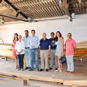Ciudadanos reivindica apoyo municipal al proyecto de réplica de barco fenicio que construye Astilleros Nereo