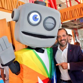 Cassá asiste a la Final Fest del programa de formación en robótica y programación Málaga Byte